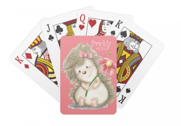 Prickly Hedge Playing Cards